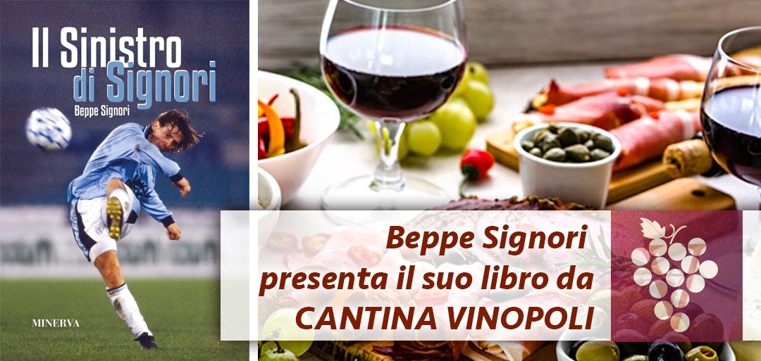 Beppe Signori da Cantina Vinopoli